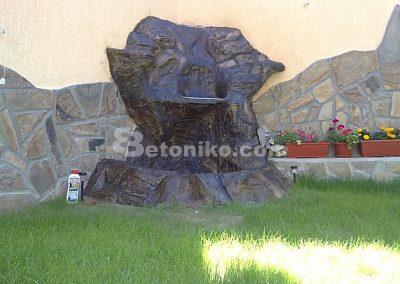 Декоративни скали, водопади и декоративни изделия от бетон (10)
