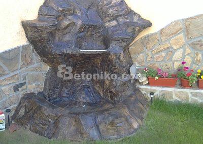 Декоративни скали, водопади и декоративни изделия от бетон (15)