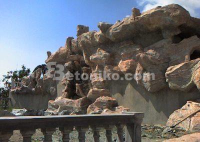 Декоративни скали, водопади и декоративни изделия от бетон (20)