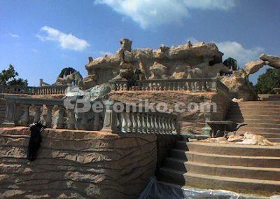 Декоративни скали, водопади и декоративни изделия от бетон (22)