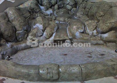 Декоративни скали, водопади и декоративни изделия от бетон (5)