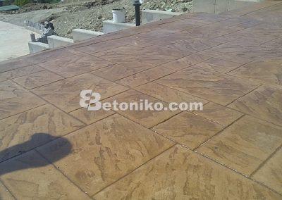 Технология на щампован бетон (8)