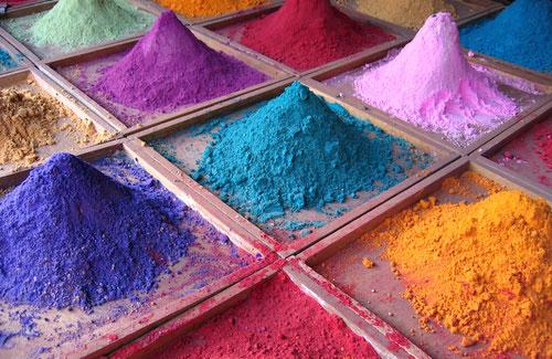 Цветове при щампования бетон