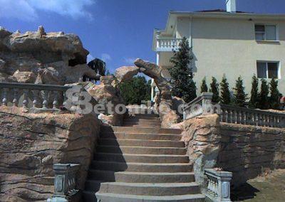 Декоративни скали, водопади и декоративни изделия от бетон (1)