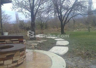 Декоративни скали, водопади и декоративни изделия от бетон (8)