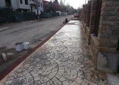 Щампован бетон - София, Симеоново (5)