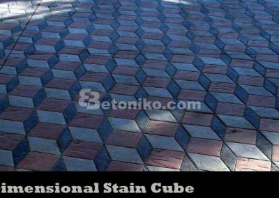 4D DIMENSIONAL STAIN CUBE