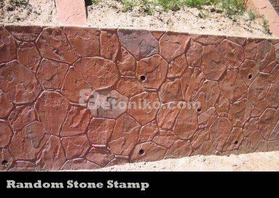 Random Stone Stamp
