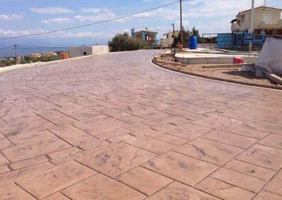 Щампован бетон – гр. Поморие