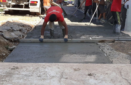 Технология на щампован бетон